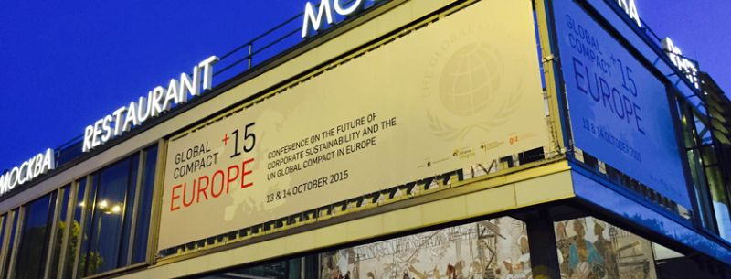 Cafe Moskau: Global Compact+15 Europe